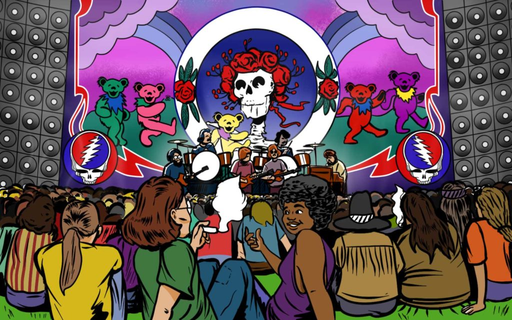 how the grateful dead influenced psychedelic rock 2
