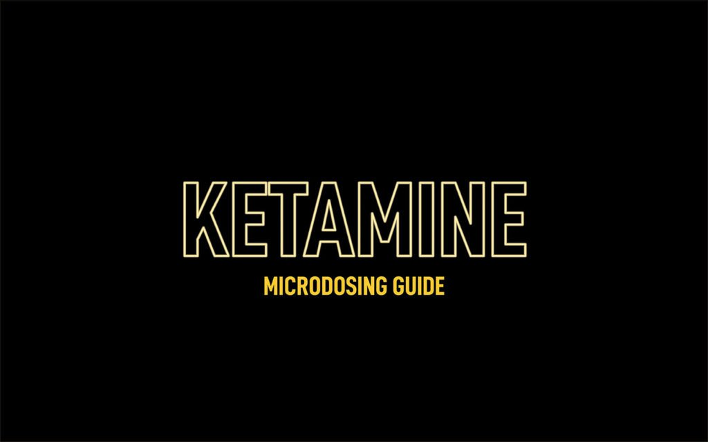 Microdosing Ketamine & Common Dosages Explained