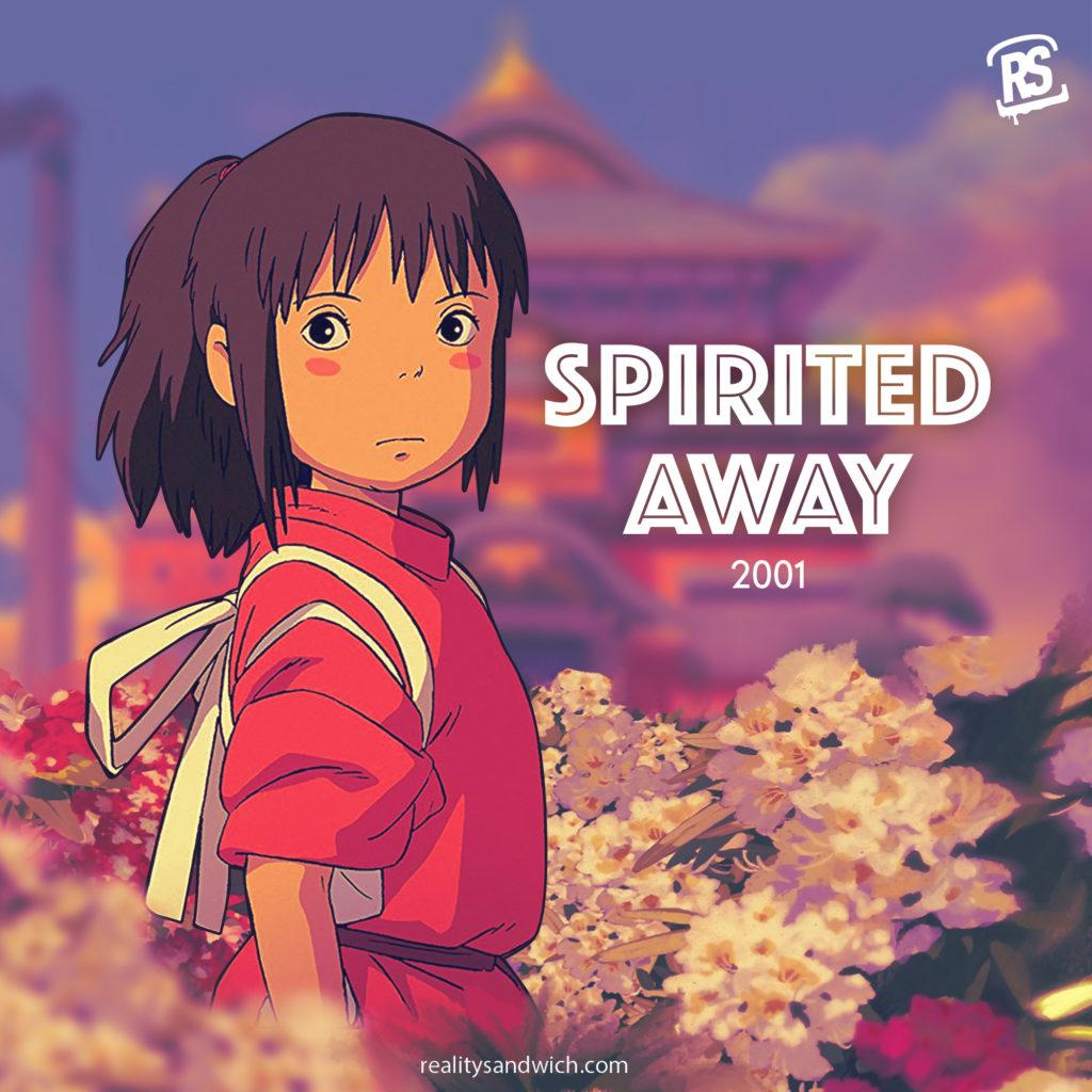 trippy movie: spirited away