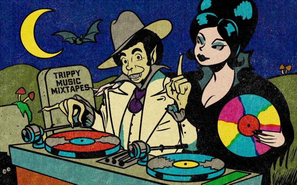 trippy music mixtapes october